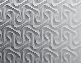 Parametric wall tiles NoVa 6 3D model