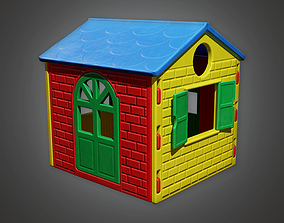 3D model PAP - Kids Playhouse - PBR Game Ready