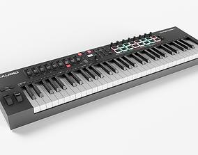 MIDI Keyboard M-Audio Oxygen PRO61 Synthesizer 3D asset