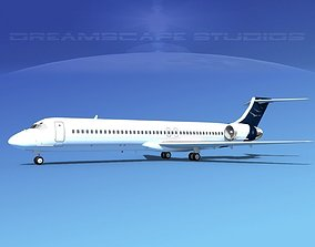 McDonnell Douglas MD-87 Corporate 13 3D model