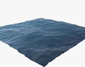 3D animated Ocean
