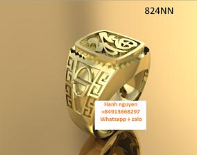 3D bracelets - jewelry 3d - 3d finger ring coin