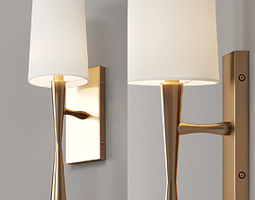 Slim Hourglass Bar Sconce 3D model