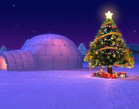 christmastrees 3D model Christmas tree