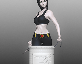 3D printable model X-23 aka Laura Kinney from the Marvel
