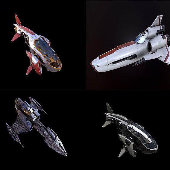 Spaceship collection