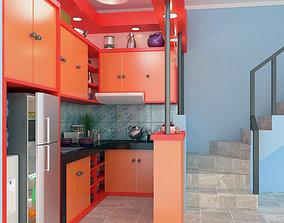 Kitchen house 3D model