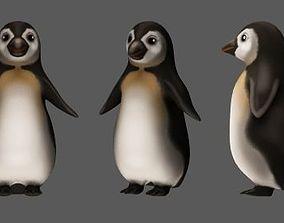 3D asset Pingvin