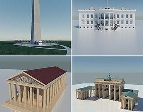 Landmarks Collection V1 3D model