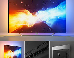 PHILIPS 4K OLED TV 9000 series - 55POS9002 12 3D model