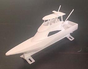 3D printable model Fishing Charters 48ft Viking Ship