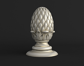 3D Pinecone Corbel