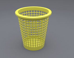 trash can 4 3D