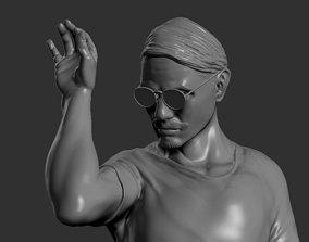 3D printable model Meat Man Statue