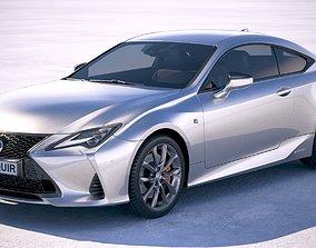 3D Lexus RC 2019