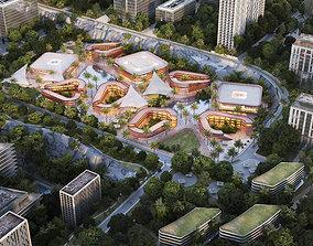 3D model MALL-Commercial Center