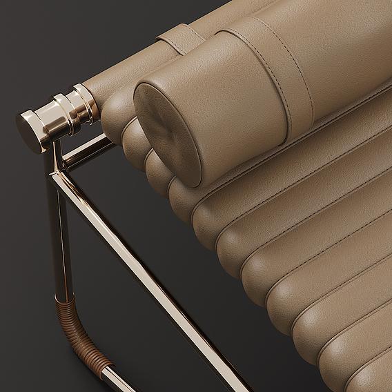 La Strizza Saddle - Leather Bench