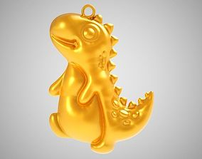 3D printable model Dino Necklace