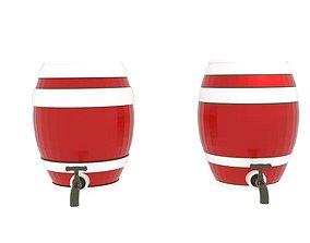 Rum Casket 3D model