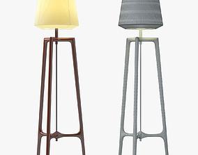3D Ceccotti Collezioni Lampo Floor Lamp