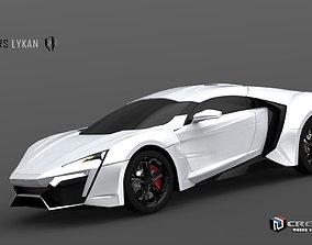 3D model Lykan Hypersport sportcar