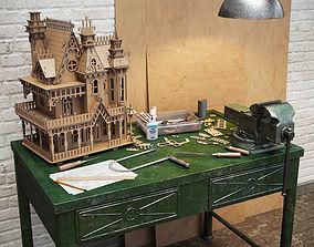 Crafting the Fantasy Villa 3D