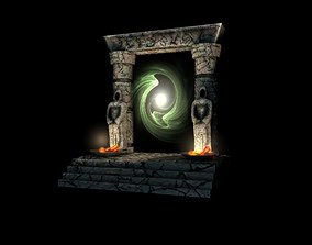 3D model Ancient portal gate
