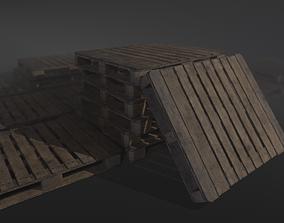 3D asset Warehouse Palett