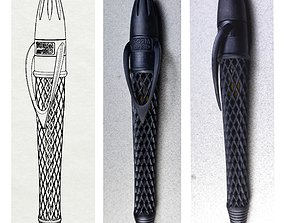 Pen with Twist Mechanism 3D print model