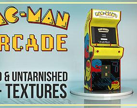 PACMAN ARCADE- Game station 3D asset