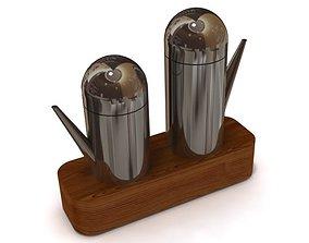 Salt Pepper Holders 3D model