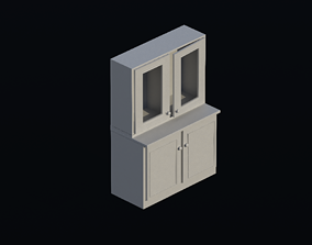 3D asset container Cupboard 02