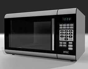 3D model Microwave Oven with Opening Door