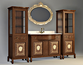 Lineatre Washstand 3D model