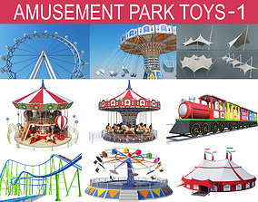 3D Amusement Park Toys Collections