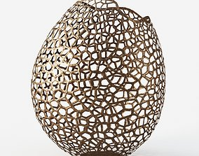 Unique Extra Large Lattice Vase By David Wiseman 3D model