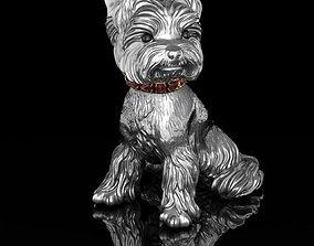 sculpture Statuette Yorkshire Terrier 3D print model