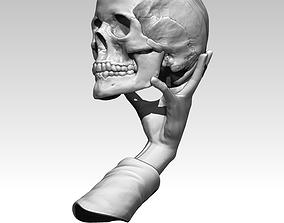 3D printable model William Shakespeare Human Skull To be 1