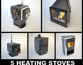 5 SiberStove Heating Stoves 3D