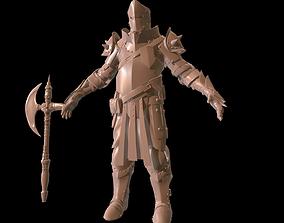 3D Heave Knight Hi poly