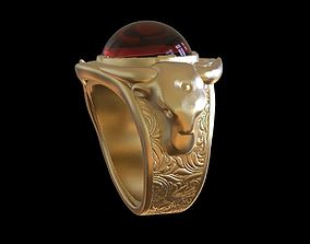 3D printable model Bulls Ring