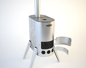 3D model SiberStove Portable Wood-Burning Cooking Stove