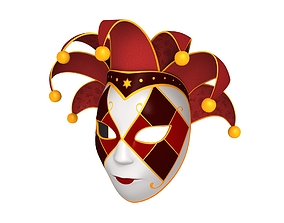 venetian Venetian Mask 3D