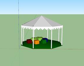 3D Shade shelter