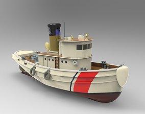 3D leagueoflegends Tug boat