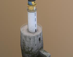 3D model Rattray Head Lighthouse