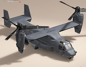 3D V-22 Osprey USAF