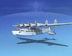 3D Sikorsky S-42 Pan American