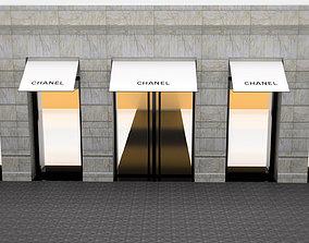 3D model Shop Front - Chanel