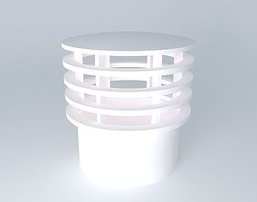 3D Ventilation of Sewage Terminal 50 mm